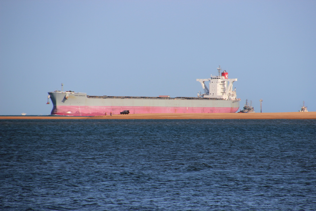 Port Hedland is the largest tonnage port in Australia despite its remote location in the northwestern part of the country.